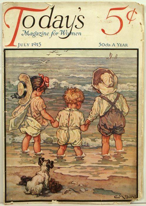 Today's Magazine for Women. 1915 - 07 (July) by BURD, CLARA M.) Burd, C. M…