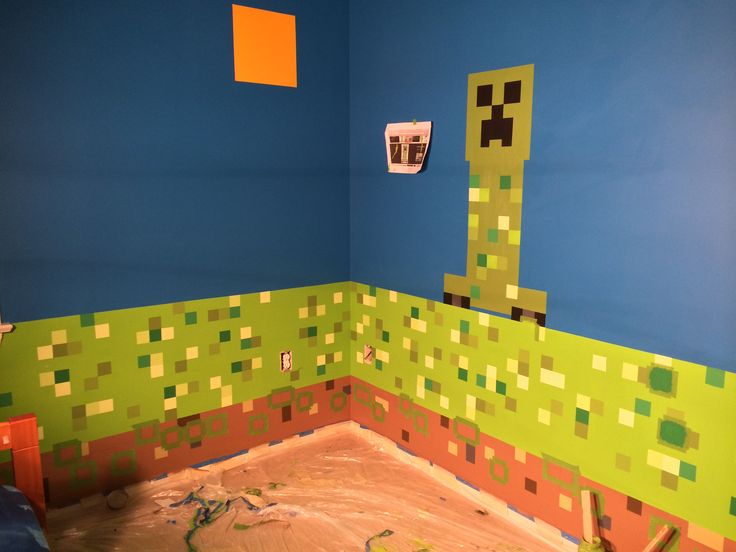 Seu filho é fã de Minecraft? Então veja como é possível dar a ele um quarto temático, feito por você, para realizar o sonho dele, sem precisar gastar muito!