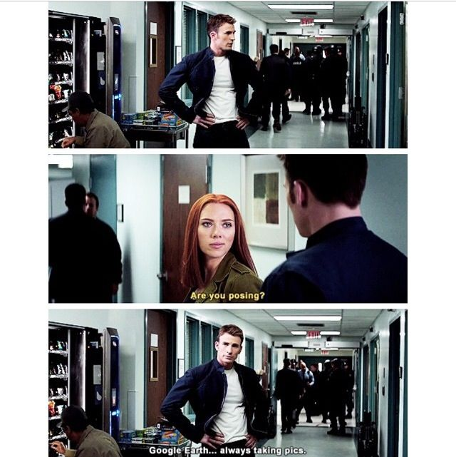 Parks and Winter Soldiers. Does this mean Steve Rogers is Leslie Knope??
