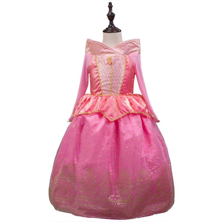 $21.99 (Buy here: https://alitems.com/g/1e8d114494ebda23ff8b16525dc3e8/?i=5&ulp=https%3A%2F%2Fwww.aliexpress.com%2Fitem%2F2016-Sleeping-Beauty-Princess-costume-spring-autumn-pink-girl-dress-Princess-Aurora-Dresses-for-girls-party%2F32670198300.html ) Vintage Sleeping Beauty Princess costume spring autumn pink girl dress Princess Aurora Dresses for girls party Costume free ship for just $21.99