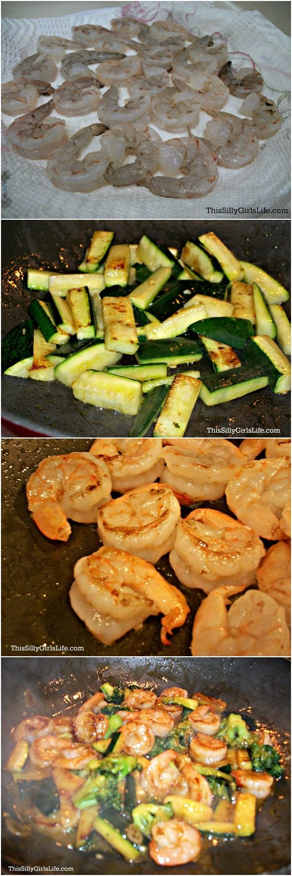 Honey Garlic Shrimp Stir-Fry | RecipesPedia.org