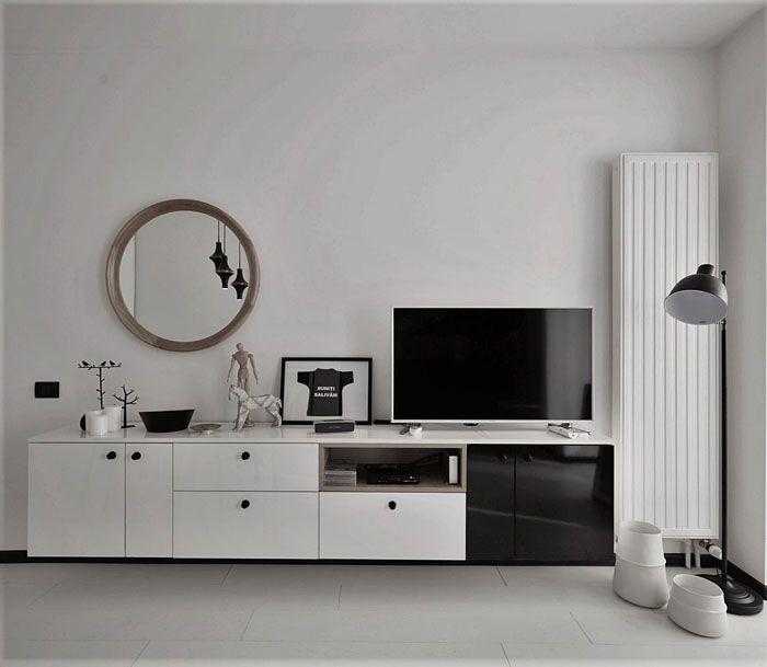 Studio de 40 mp sau cum tot felul de alăturări istețe îți pot face viața mai simplă Reflector VOX - Bo Concept White Parquet
