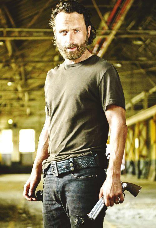 Andrew Lincoln I Love His Beard Blue Eyes And English