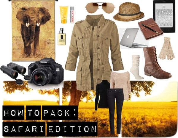 Shorts/t-shirts/trousers Walking boots Brimmed strapped hat Sun protection Lotion Binoculars Fleece/Sweater/Jumper Film/Flash card memory Small first Aid Kit Swimming Costume Book on East Africa Birds Sun Glasses Safari Shoes/Sports shoes Flashlight Drinking Water Mosquito repellant