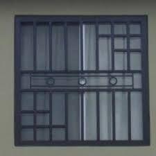 Resultado de imagen para puertas entrada principal con cristal y reja