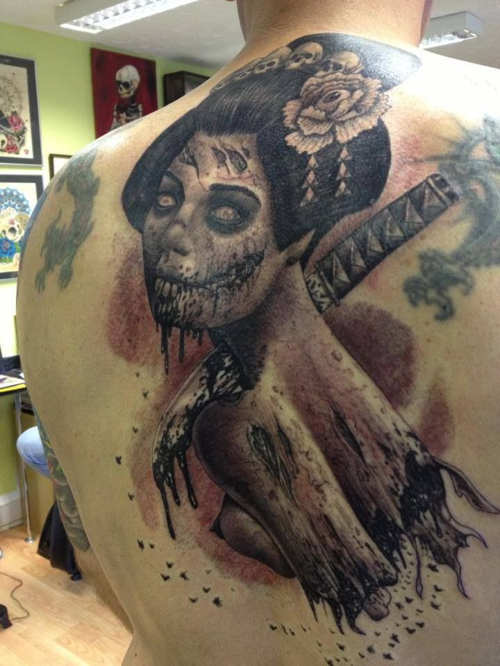 1000 images about zombie tattoos on pinterest sleeve