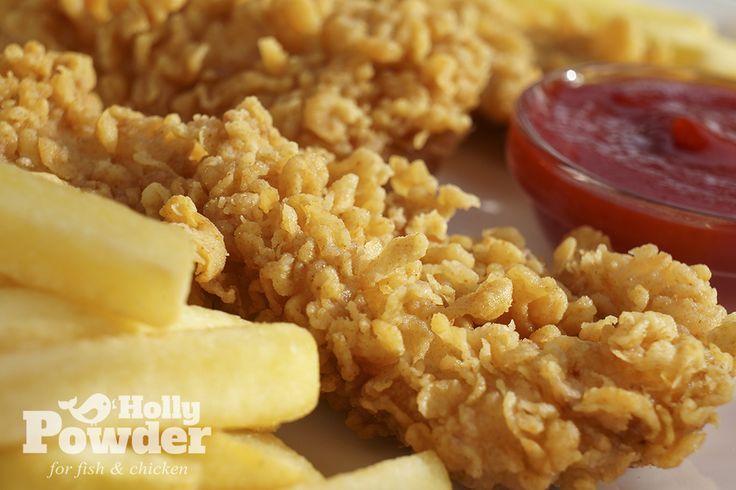Panierowany kurczak Holly Powder