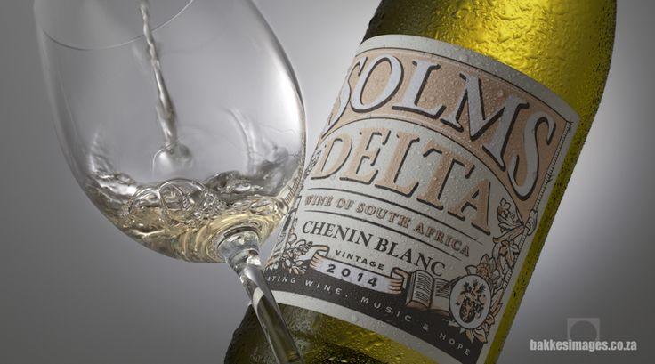 Wine Photography for Marketing & Advertising: Solms Delta Chenin Blanc 2014. www.bakkesimages.co.za