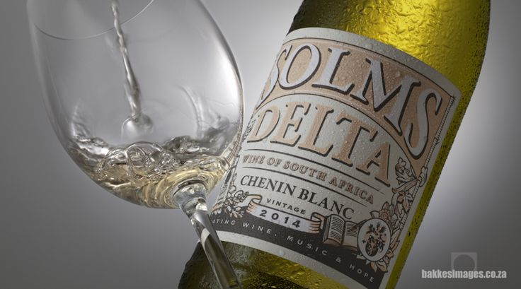 Wine Photography for Marketing & Advertising: Solms Delta Chenin Blanc 2014. www.bakkesimages.co.za