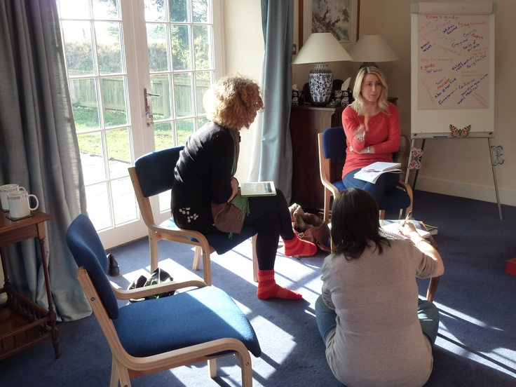 Relaxed and flexible ways of working together on our NLP Practitioner Training programmes.