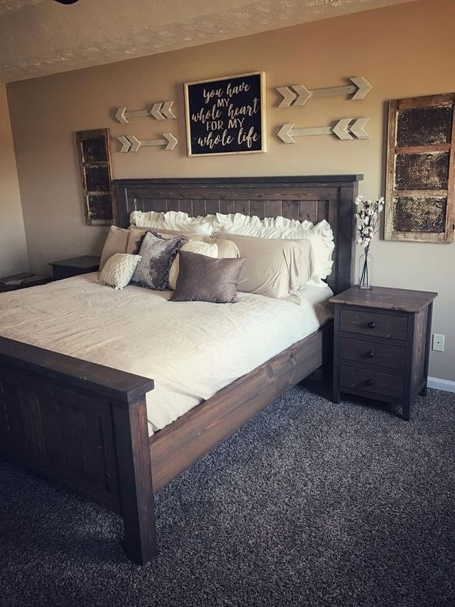 29 The 30 Second Trick For Master Bedroom Wall Decor Above Bed Rustic Apikhome Com Remodel Bedroom Home Bedroom Rustic Master Bedroom