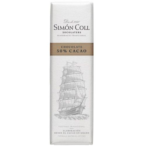 Simon Coll 18g. Ciocolata Neagra 50% cacao FARA GLUTEN
