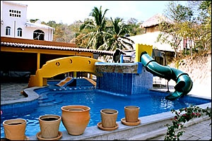 Hotel Arenas del Pacífico, Huatulco, Oaxaca, México.
