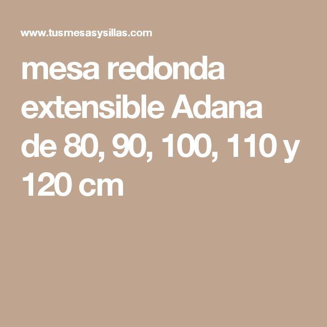 M s de 25 ideas incre bles sobre mesa redonda extensible for Mesa 80x80 extensible a 120