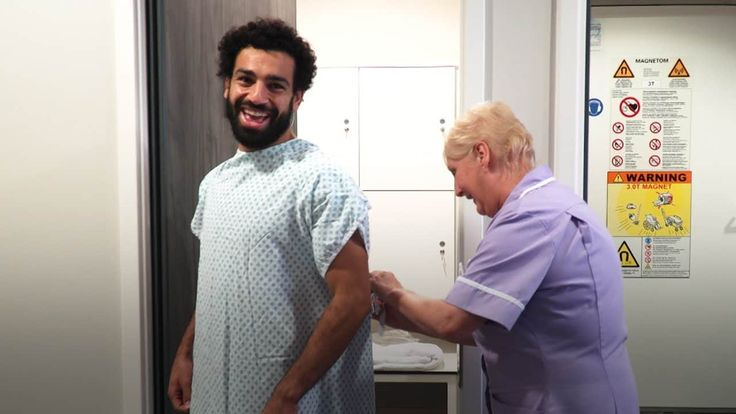 Watch behind the scenes of Mohamed Salah's Liverpool medical and signing