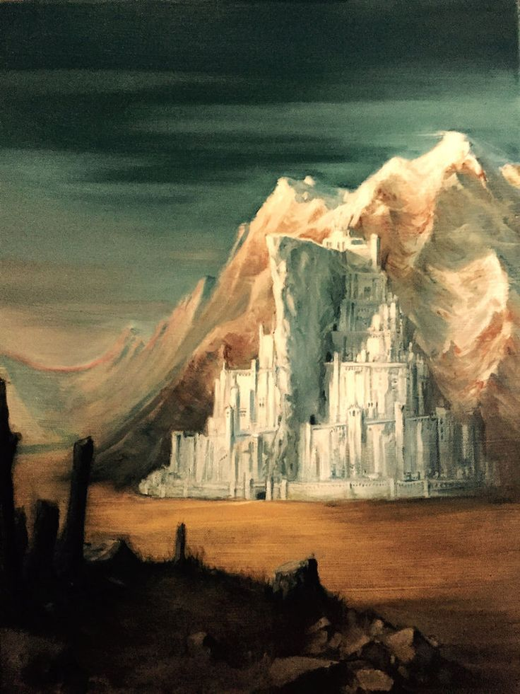 Minas Tirith by Harpokrates on DeviantArt