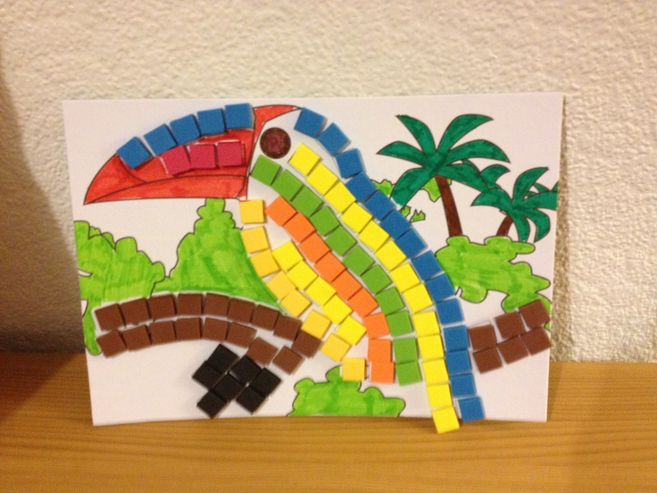 Mosaics by my daughter