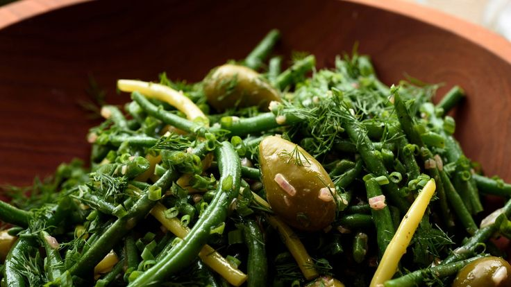 Green Beans With Herbs and Olives Recipe - NYT Cooking