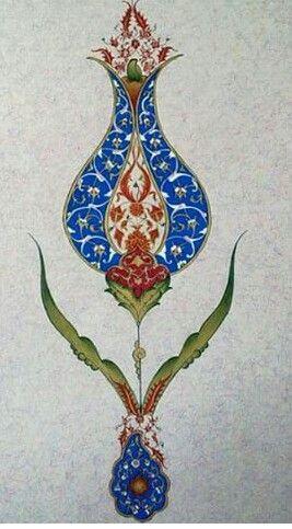 Tezhib, Lale Deseni