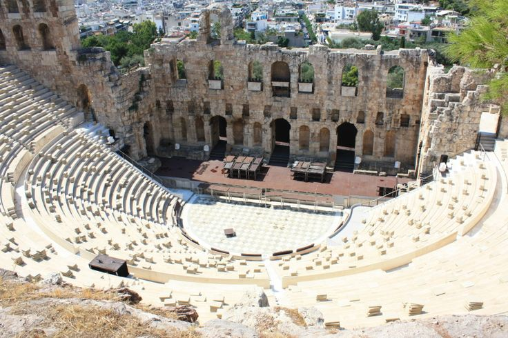 Odeon of Herodes Atticus #passionforgreece #athens #greece