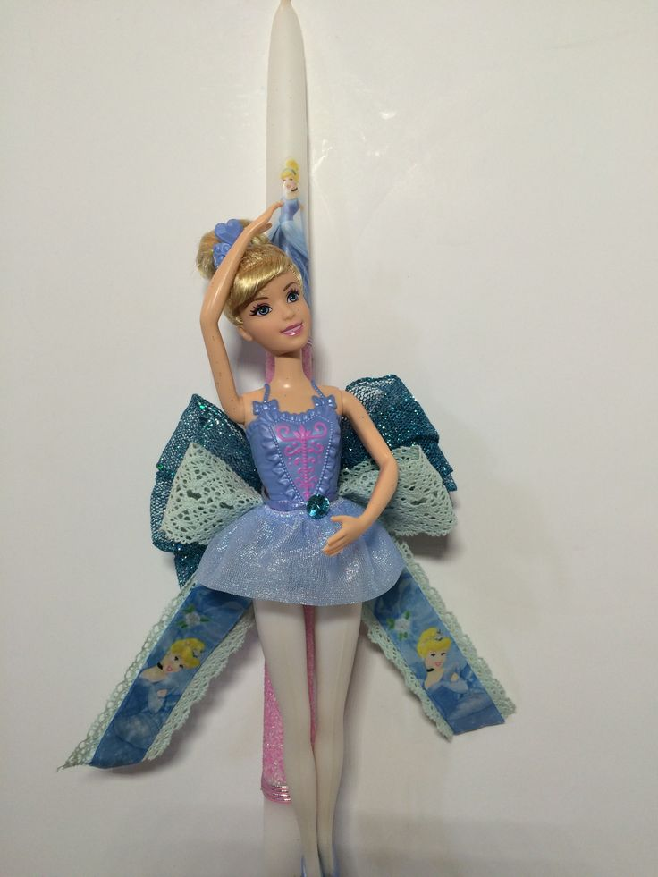Cinderella easter candle message me sometimes pictures are not on web ill custome make this candle