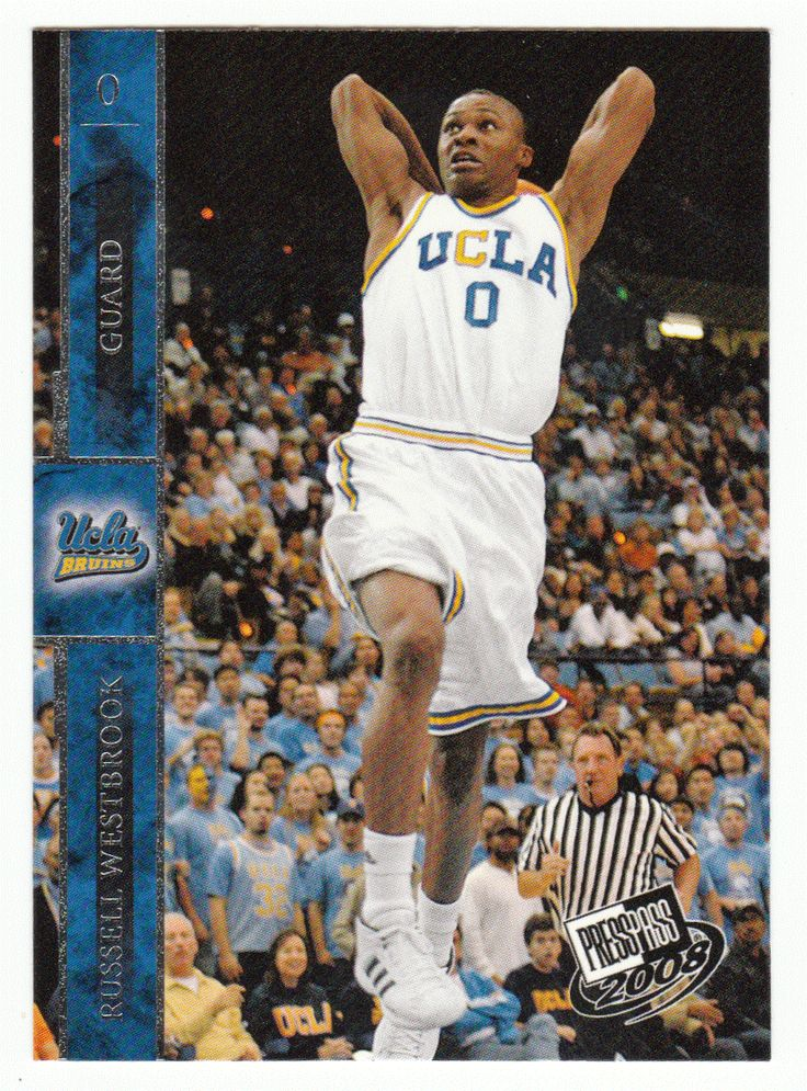 Russell Westbrook # 34 - 2008 Press Pass Basketball