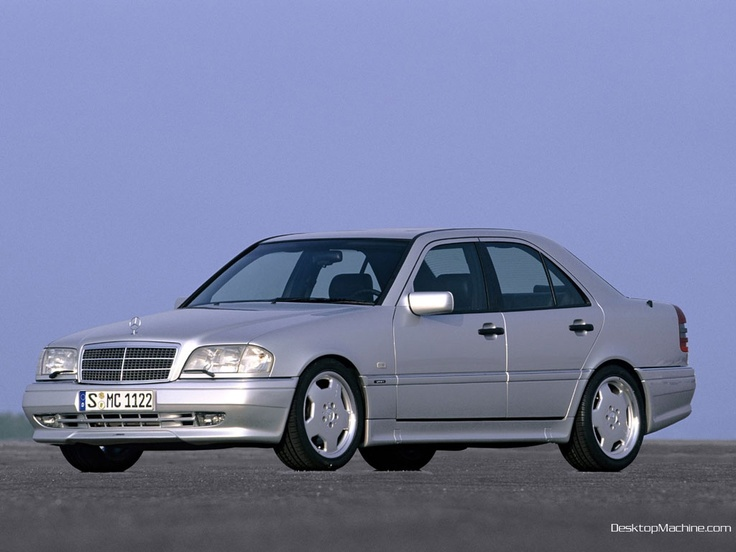 """1998 Mercedes-Benz C43 AMG: so yet another Mercedes made it to the list. It's AMG, of course it will make it. The older the better in this case too, since the C36 model was predominately a Euro release car. The C class, much like the S class is a sign of which direction the company is heading, what features to expect on future models. The AMG is just extra icing and a big fat """"discrete"""" cherry on top."""