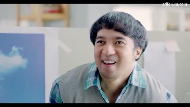 """#4 """"Beach for AirAsia (By Saatchi & Saatchi Indonesia) Super-slackers...Taking office daydreaming to another level."""