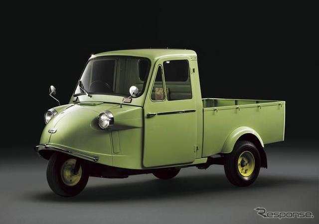 Daihatsu - Midget (ダイハツ工業 軽3輪トラック「ミゼット」)