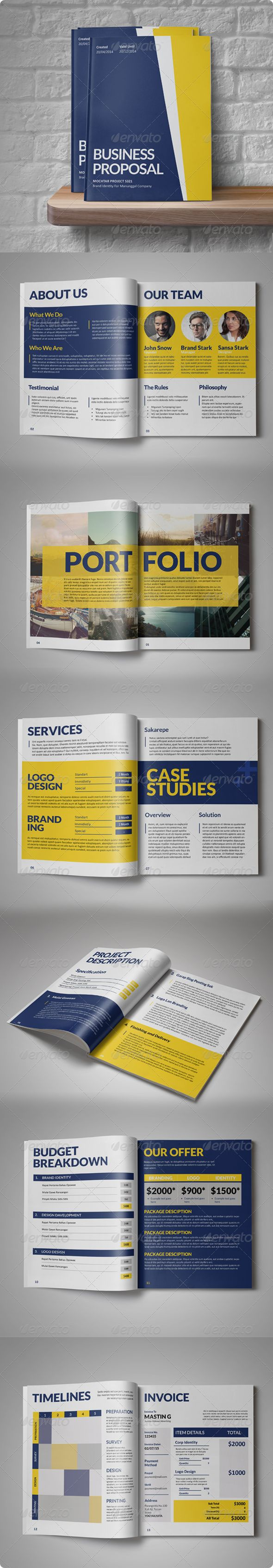Painah Business Proposal | GraphicRiver