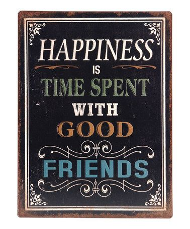 Another great find on #zulily! 'Happiness Is Time Spent' Wall Sign #zulilyfinds