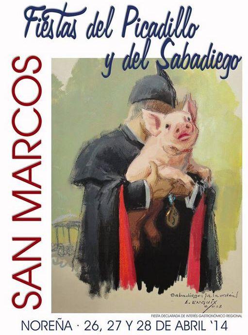 Fiestas del Picadillo y del Sabadiego 2014 - Jornadas Gastronómicas. Noreña. Asturias. Spain.