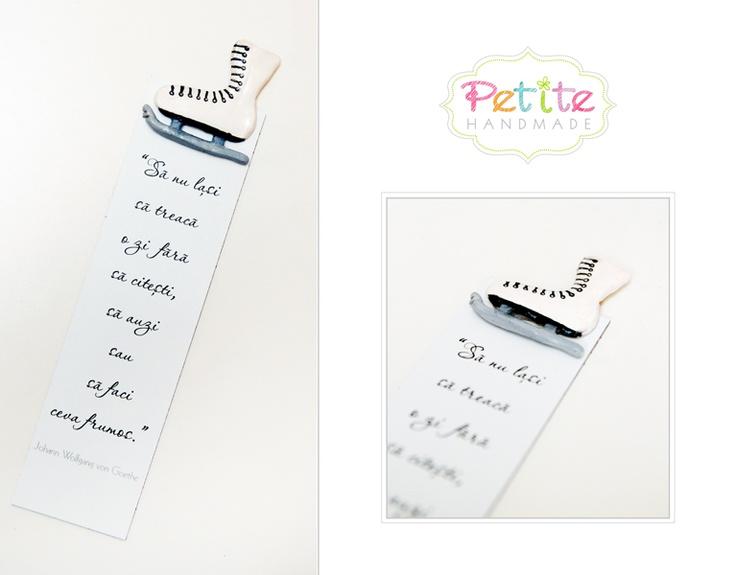 Semn de carte / Bookmark http://petitehandmade.wordpress.com/