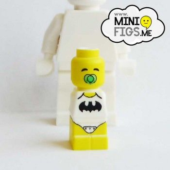 batman custom printed baby microfigure minifigure LEGO