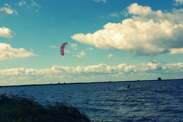 veni vidi blog: kitesurfing na Wolinie