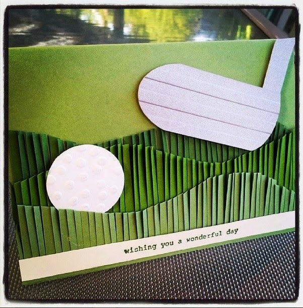 Julias Cards A Golfers Birthday
