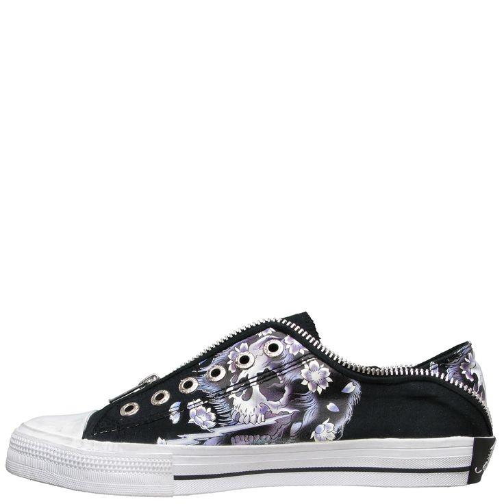 Ed Hardy Lowrise Bronx Shoe for Kids - Black - Yvonne's #shoes