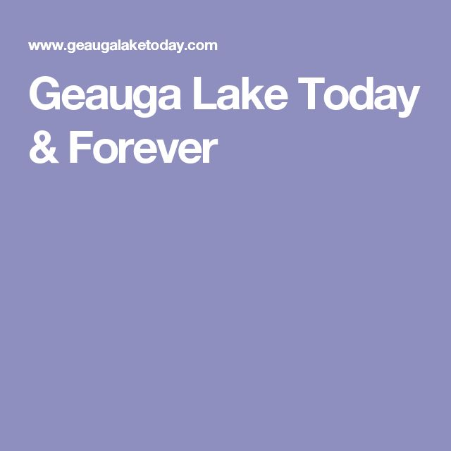Geauga Lake Today & Forever