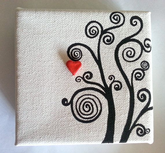 find this pin and more on mini canvas art by
