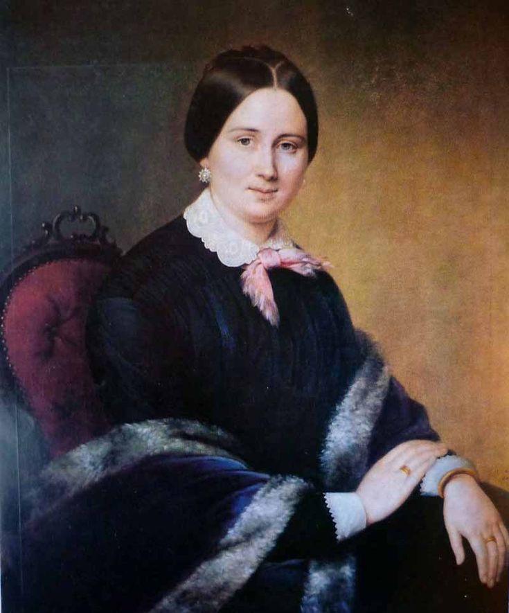 """Яковлев Гавриил Иванович (1819-1862) """"Женсикй портрет"""""""