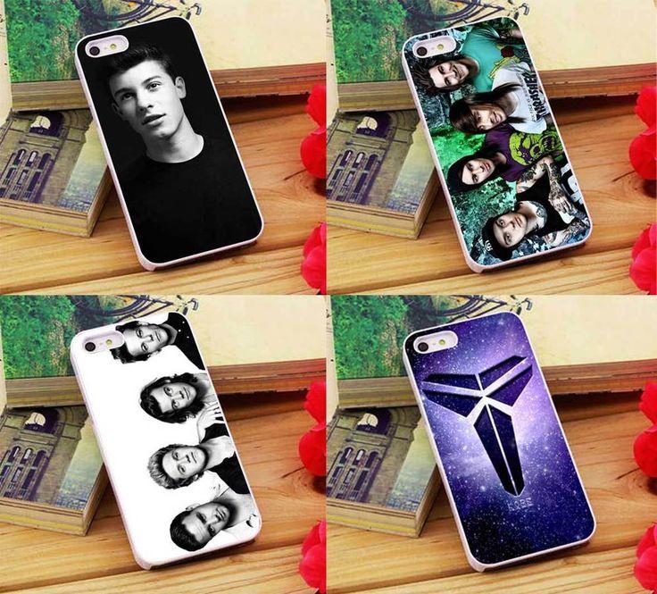 Shawn Mendes Pierce The Veil One Direction Kobe Bryant Mamba iPhone 5 6 6s Case  #UnbrandedGeneric