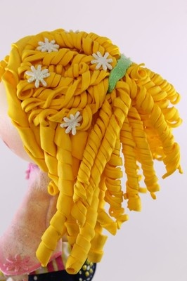 Angela Fofucha Doll Pink Craft Foam Doll Fofuchas | eBay