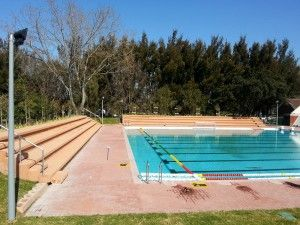 New pool at the University of Western Cape