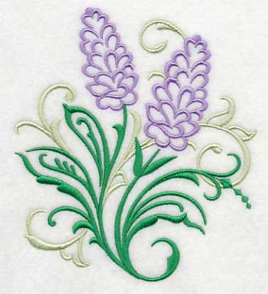 Lavender Filigree Machine Embroidery Designs at Embroidery Library! -