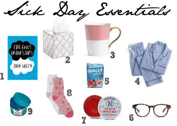 9 Sick Day Essentials