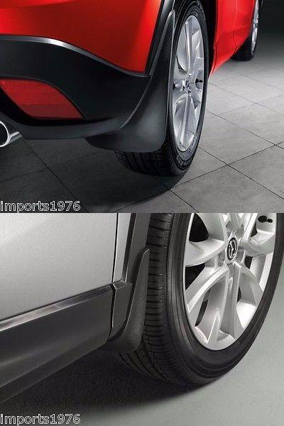 auto parts - general: 2017 Mazda Cx-5 Genuine Oem Splash Mud Guards Black Set Of 4 -> BUY IT NOW ONLY: $107.95 on eBay!