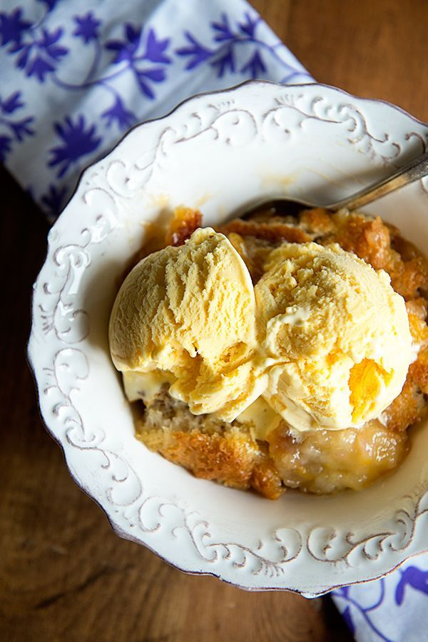 Super Simple Peach Cobbler Recipe - the best use for the fresh peaches of the season! from dineanddish.net