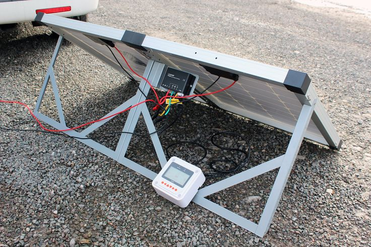 A review of a Biard Folding Solar Panel with MT-50 remote meter