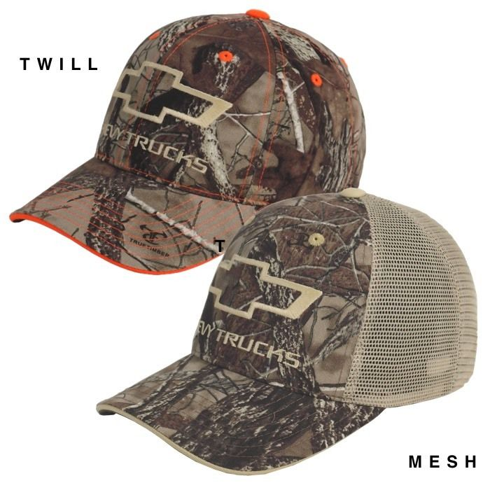Muscle Car Apparel and Gifts - Chevy Hat - TrueTimber Camo, $16.95