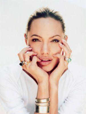 Angelina Jolie by Annie Leibovitz.